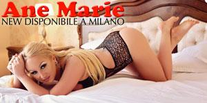Ane Marie girl accompagnatrice escort in Milano